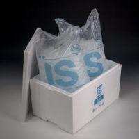 20kg is påse förpackning frigolit låda