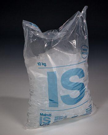 10 kg isbitar i påse